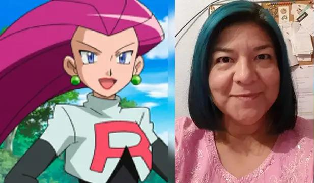 Realizo a diferentes personajes, el mas destacado fue Jessie de Pokémon